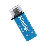 KIMTIGO OTG Flashdrive USB 3.0 16GB [KTH-305] - Blue - Usb Flash Disk Dual Drive / Otg